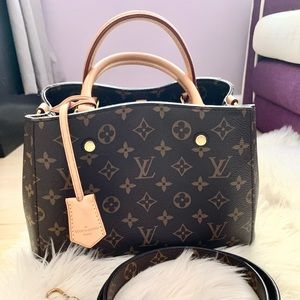 Louis Vuitton Montaigne BB handbag crossbody bag